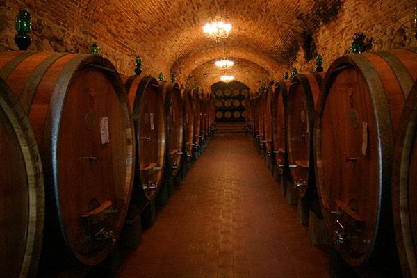 保管・貯蔵されているワイン