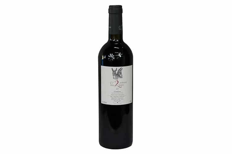 ドメーヌ・デ・ドゥーザーヌの赤ワイン