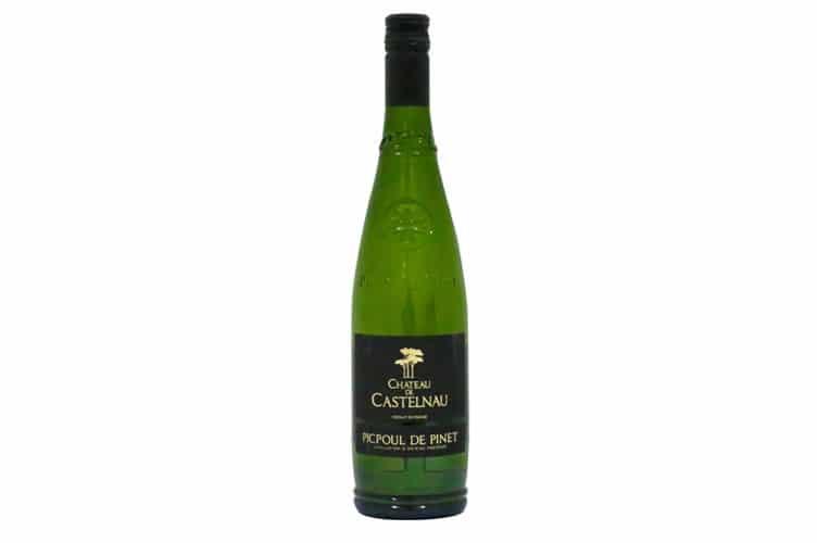 シャトードカステルノーの白ワイン